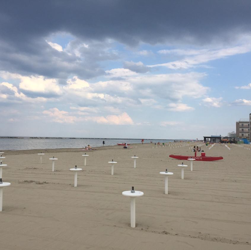 Strand von Cesenatico