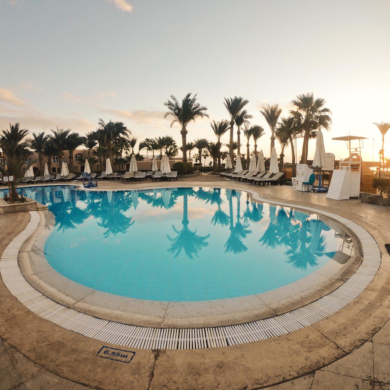 Pool im Labranda Club Paradiso