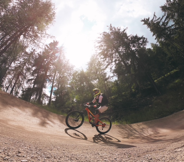 Downhill - Kurventechnik will ..