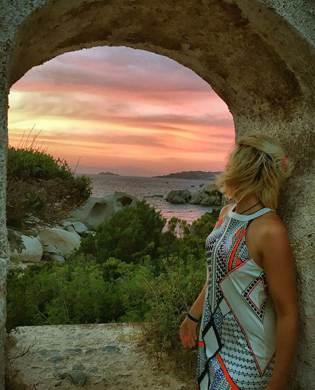 📍Costa Serena, Sardegna ...every day is special and you can explore new and exciting places..#sundowner