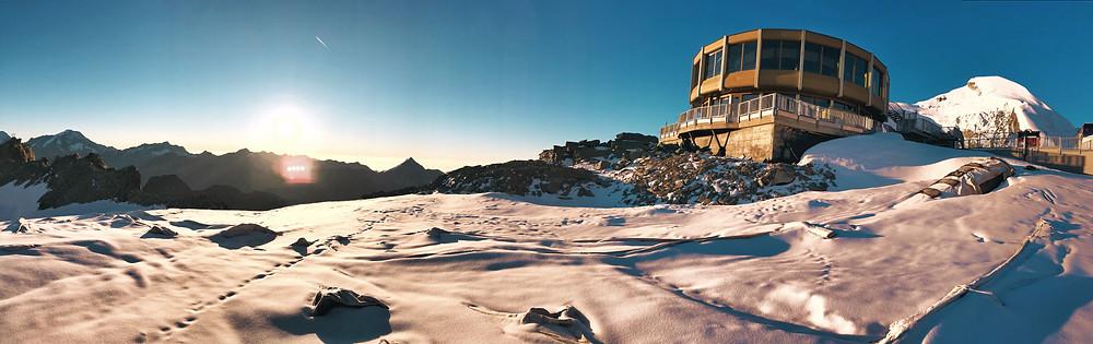 Das höchste Dreh-Restaurant der Welt in Saas Fee