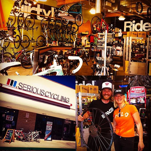 Visited _seriouscycling shop today in Agoura Hills ...really cool shop with all you need as a #cyclist ..👏🏻😃👍🏻..met _dzabriskie there.