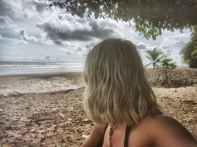 Hippie Beach at Dominical