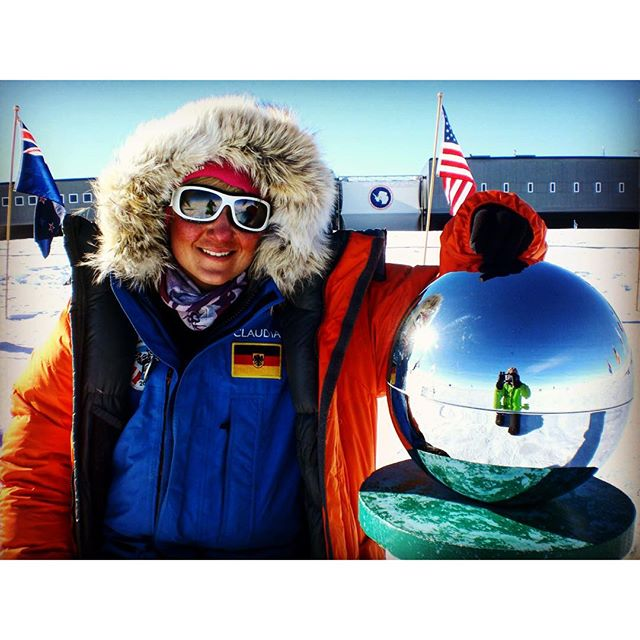 Race to the southpole in Dezember 2013 ..400 km on skiers against an Austrian team...was a great lifetime experience..