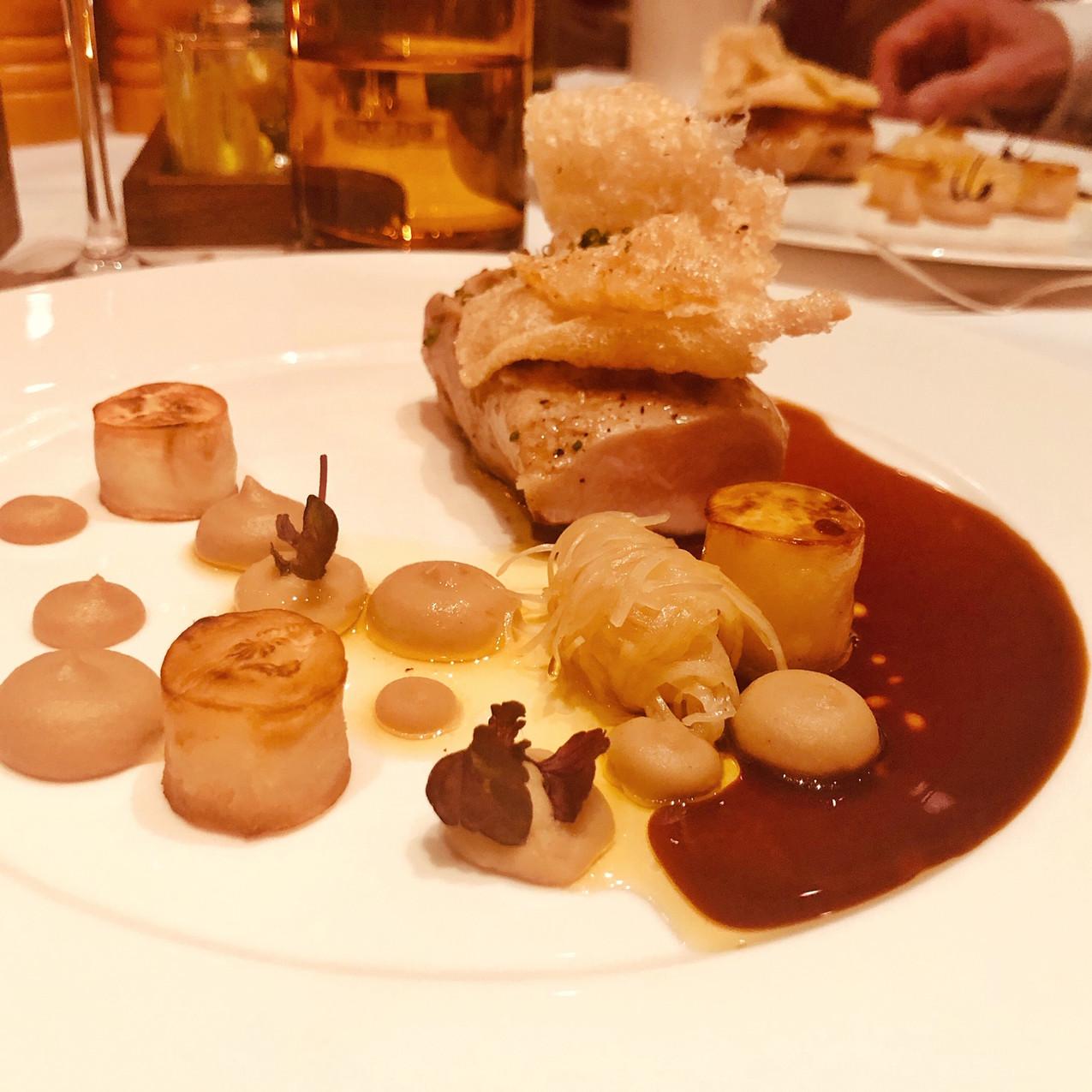 Dinner im Restaurant Wintergarten