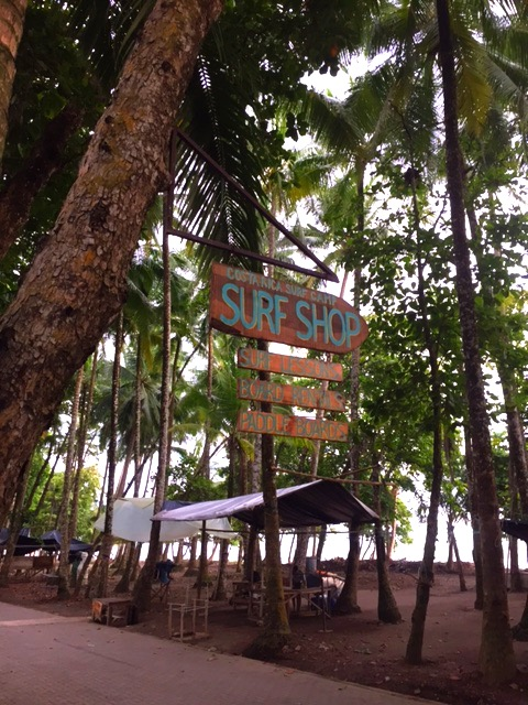 Surf Shop at Dominical