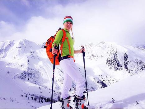 Meine erste Skitour im schönen Südtirol
