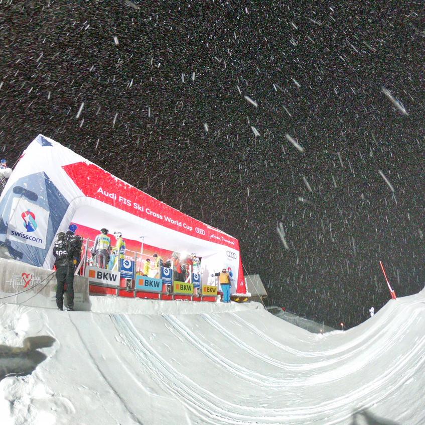 Starthaus Skicross Arosa