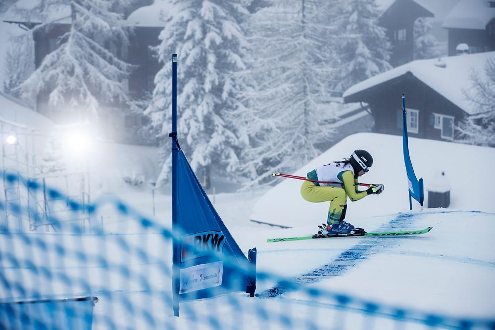 Abfahrt Skicross - Bild: Richard Walch Audi
