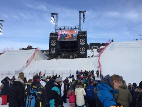 X-Games, Ski Action und Husky Abenteuer mit GoPro @Lillehammer, Norwegen