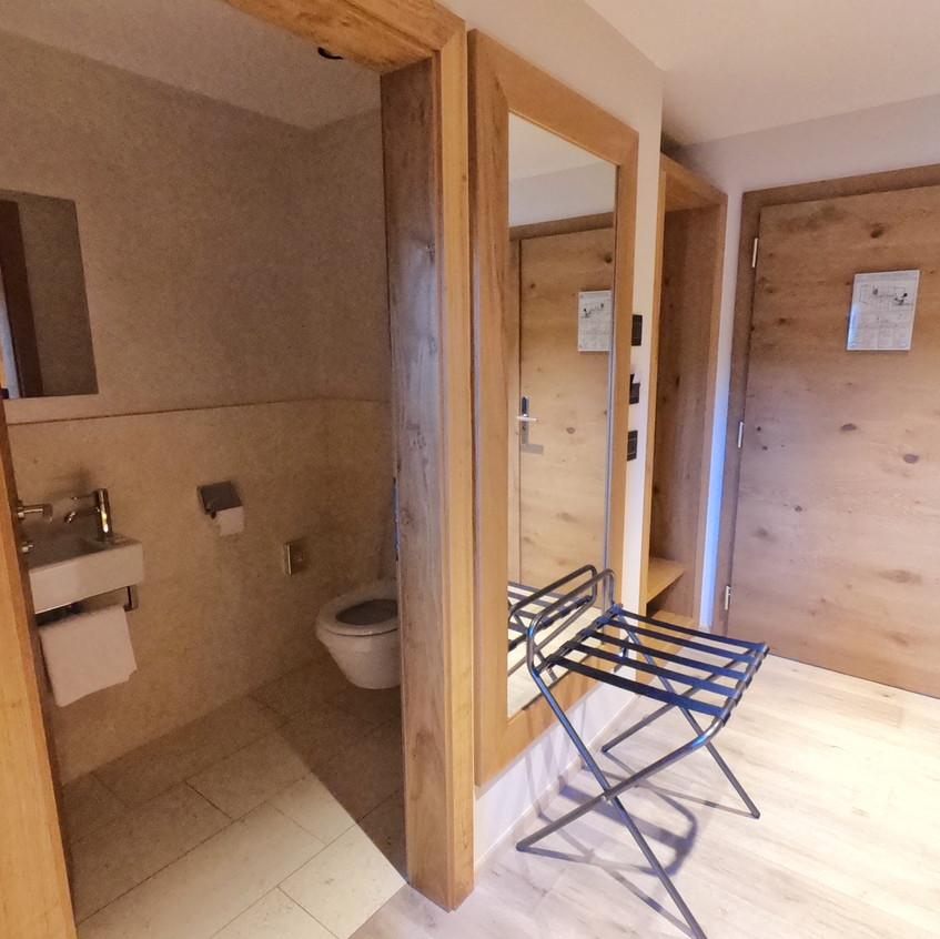 Extra Toilette in der Suite