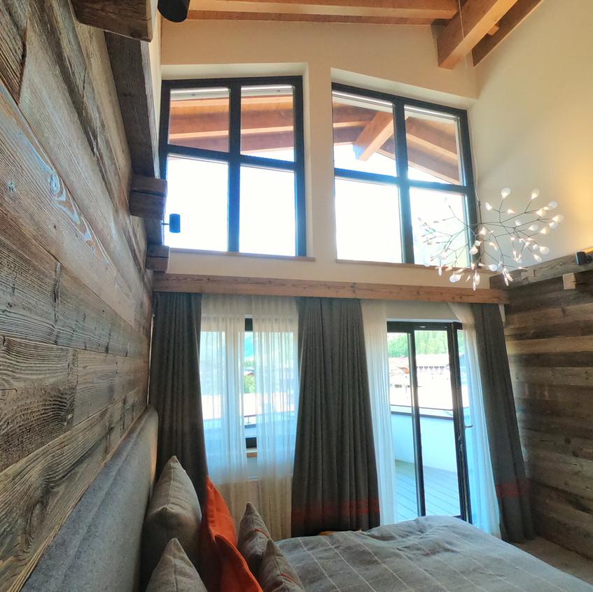 Schlafzimmer Suite im Central Sölden
