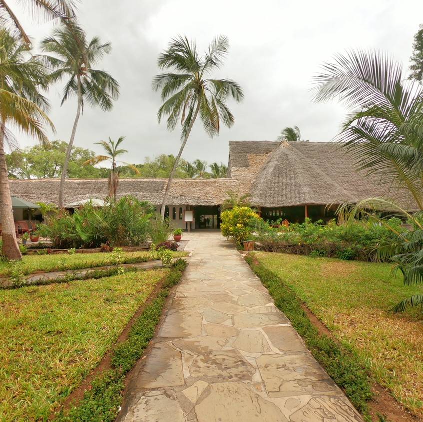 Garten im Turtle Bay Resort