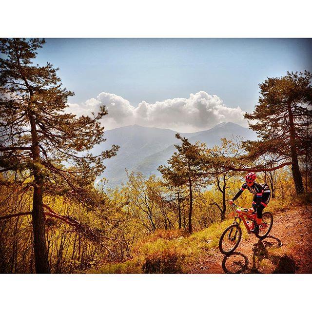 Great trails at #RockymountainBikeMarathon #mountains....