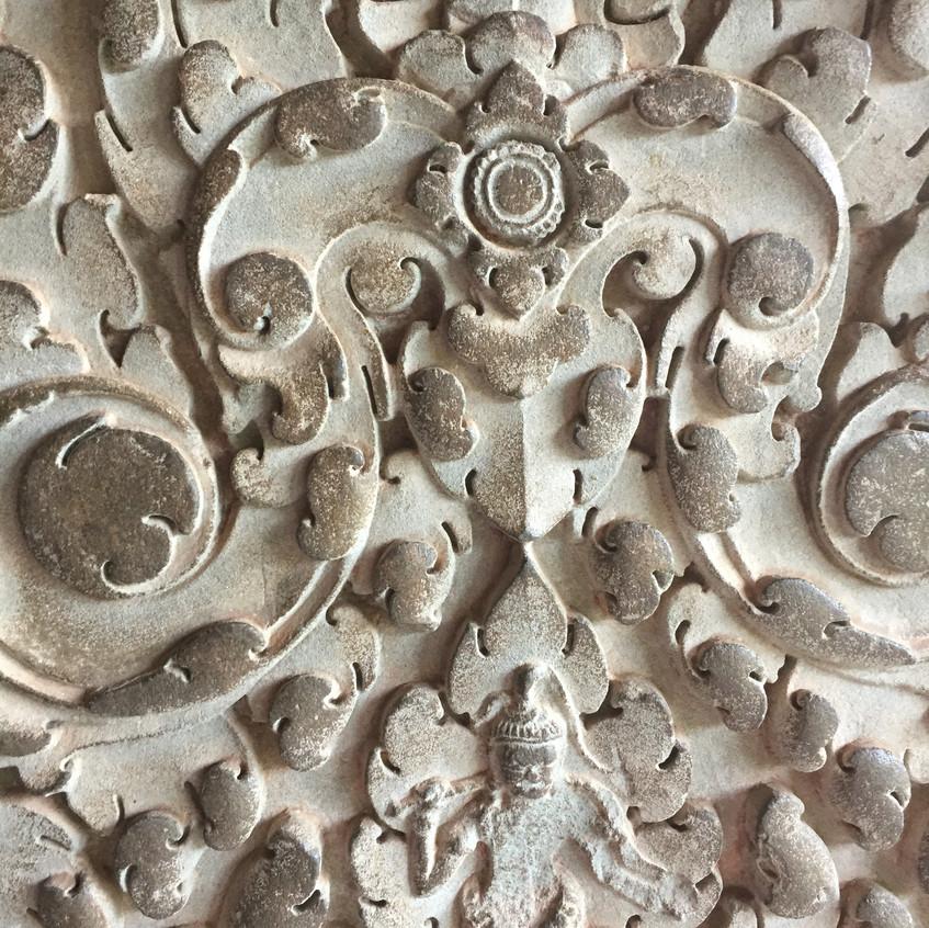 Relief in Angkor Wat