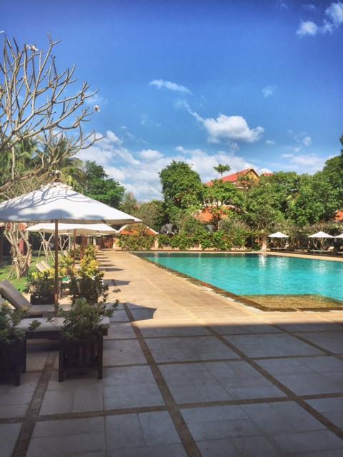Pool im Angkor Wat Resort
