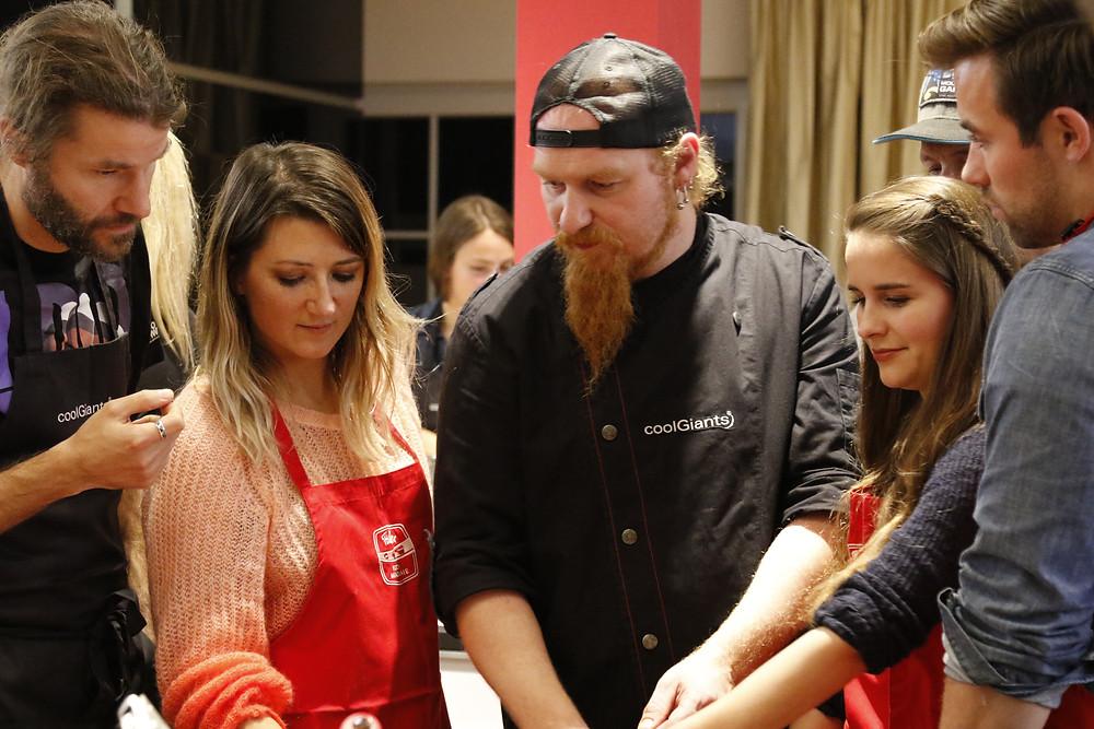 Kochen mit Lucki Maurer I  Photo by Jochen Schweizer