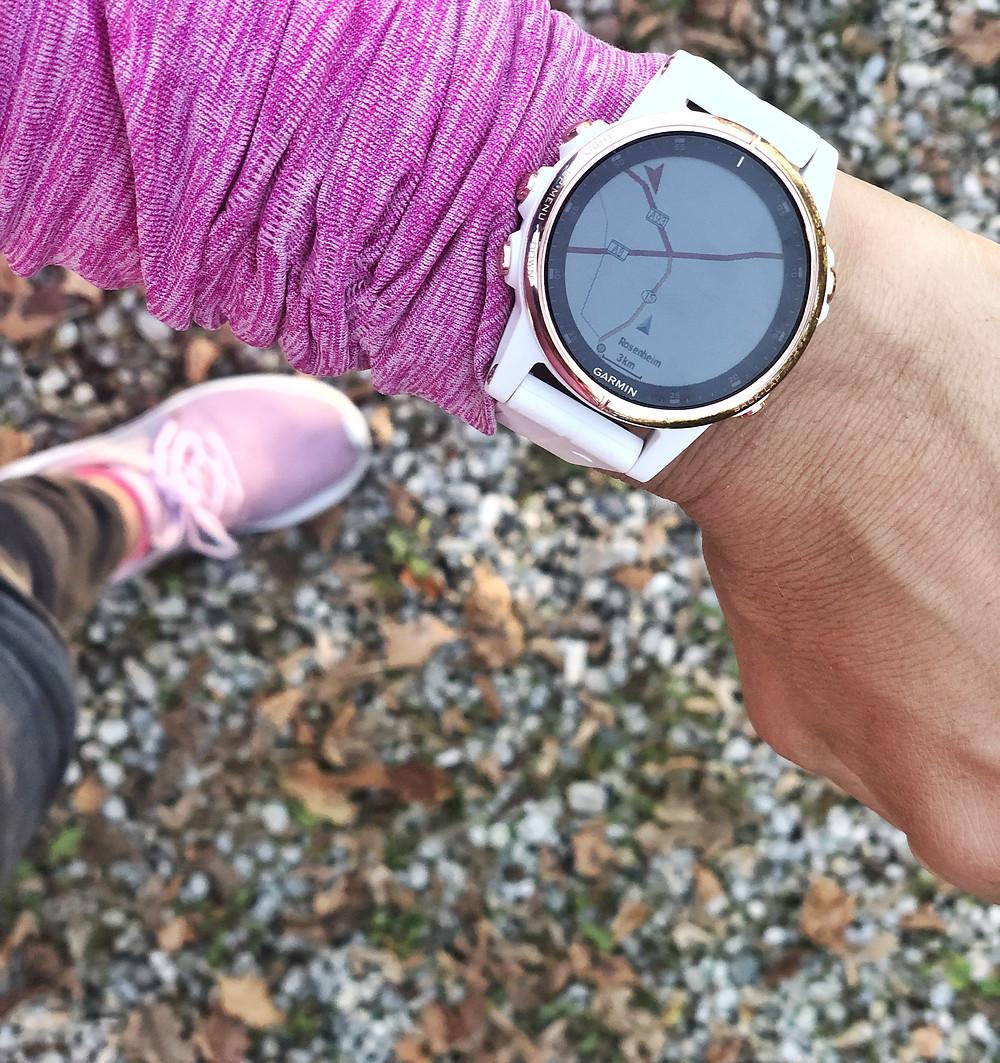 Fenix 5 S PLUS - Sportuhr, Activity Tracker und Smartwatch