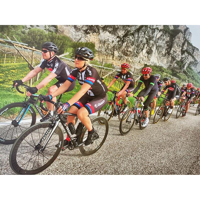 Nice ride with #Alpecin  from #Caldaro to #Trento last week.. ..