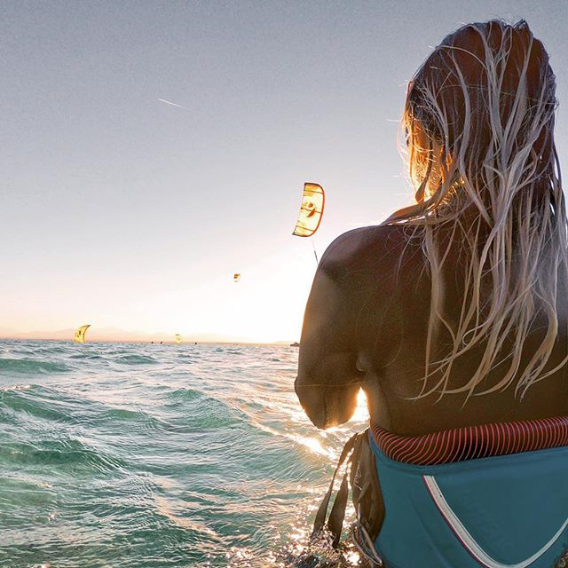 Kitesurfen vor dem Labranda Club Paradiso