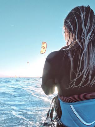 Kitesurfen - Lest meinen Gastbeitrag auf dem ERGO Blog