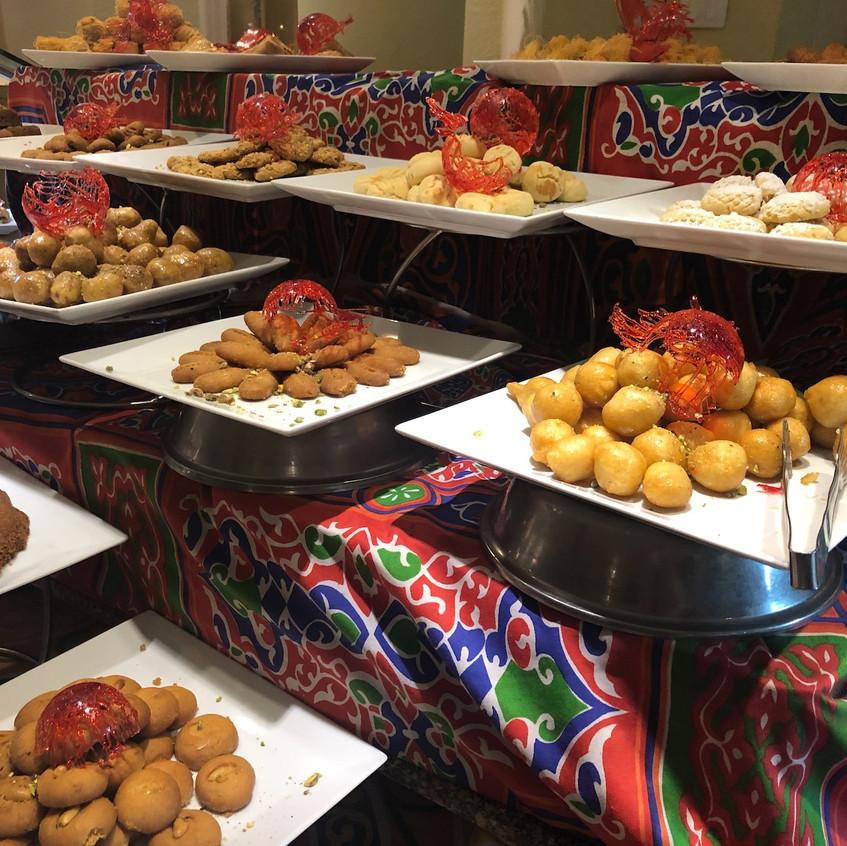 Dessertvarianten beim Dinner