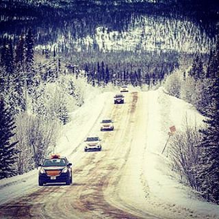 #fuldachallenge 2013 ..1500 km on the ICE ROAD #dempsterhighway to the #arcticcircle #challenge .. #yukon photo_ Markus Stier ..