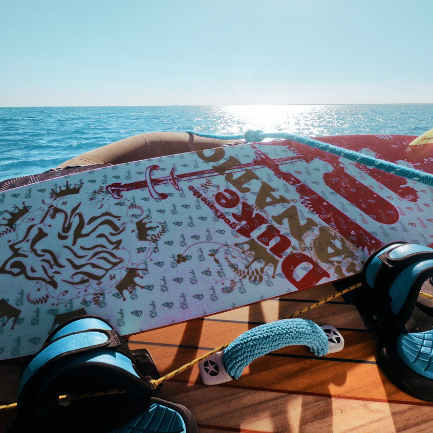 Mit dem Boot zur Sandbank