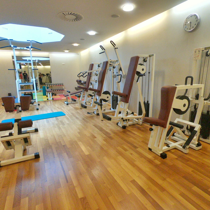 Fitnessbereich im Central Sölden