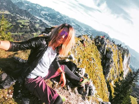 Wanderung auf den Brünnstein - Ausblick mit Suchtfaktor