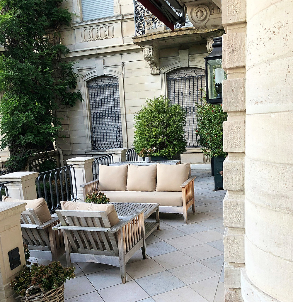Villa Stephanie Terasse