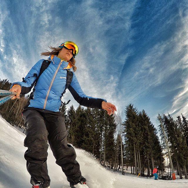 Ski Action in Hafjell