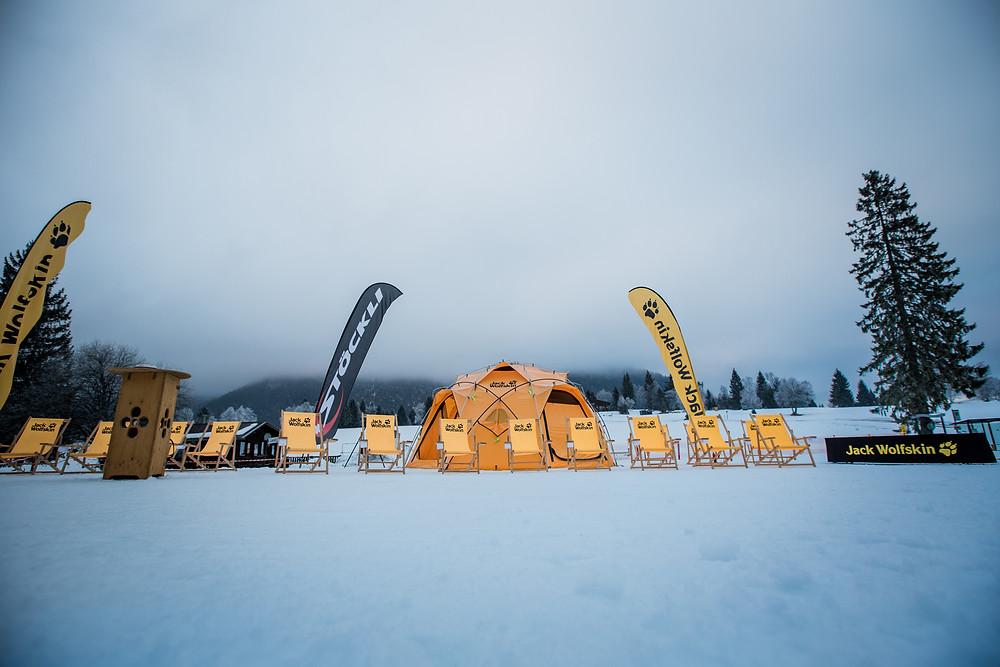 Jack Wolfskin - Race to Finland -der Schauplatz im Rofan ..:-) Photocredit: Hansi Heckmair