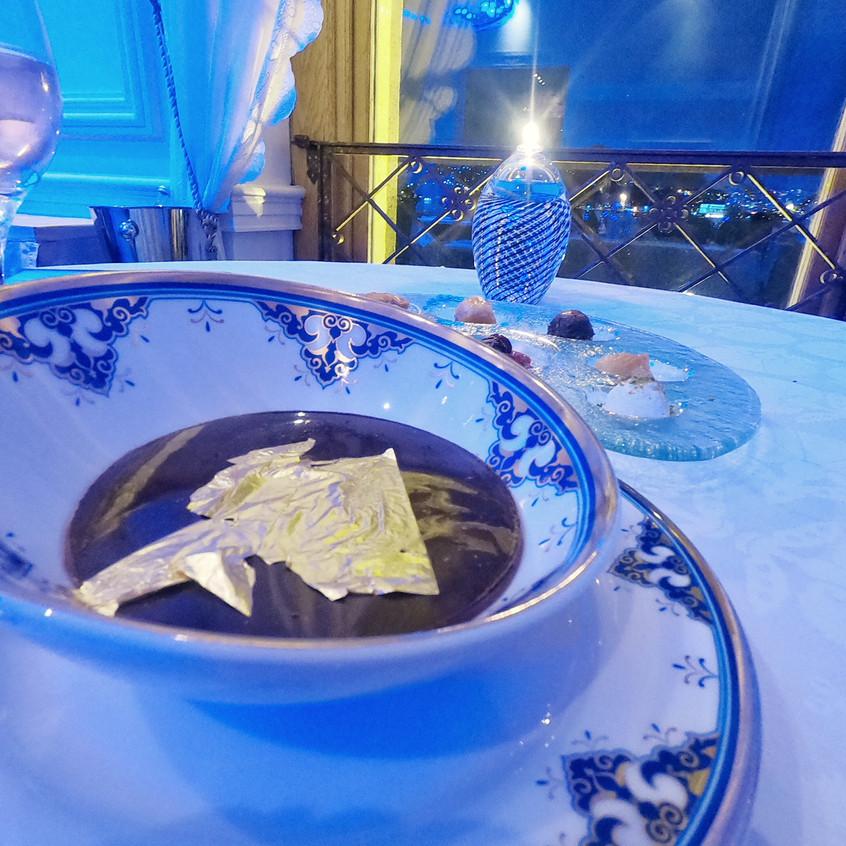 Dessert at Tugra Restaurant