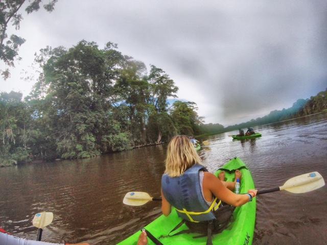 Kayak Tour Tortuguero
