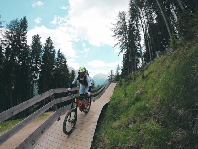 Dwnhill Spaß Bikerepublic Sölden