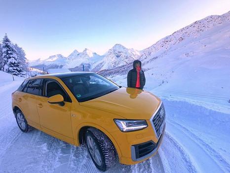 Audi Skicross Weltcup @Arosa, Schweiz