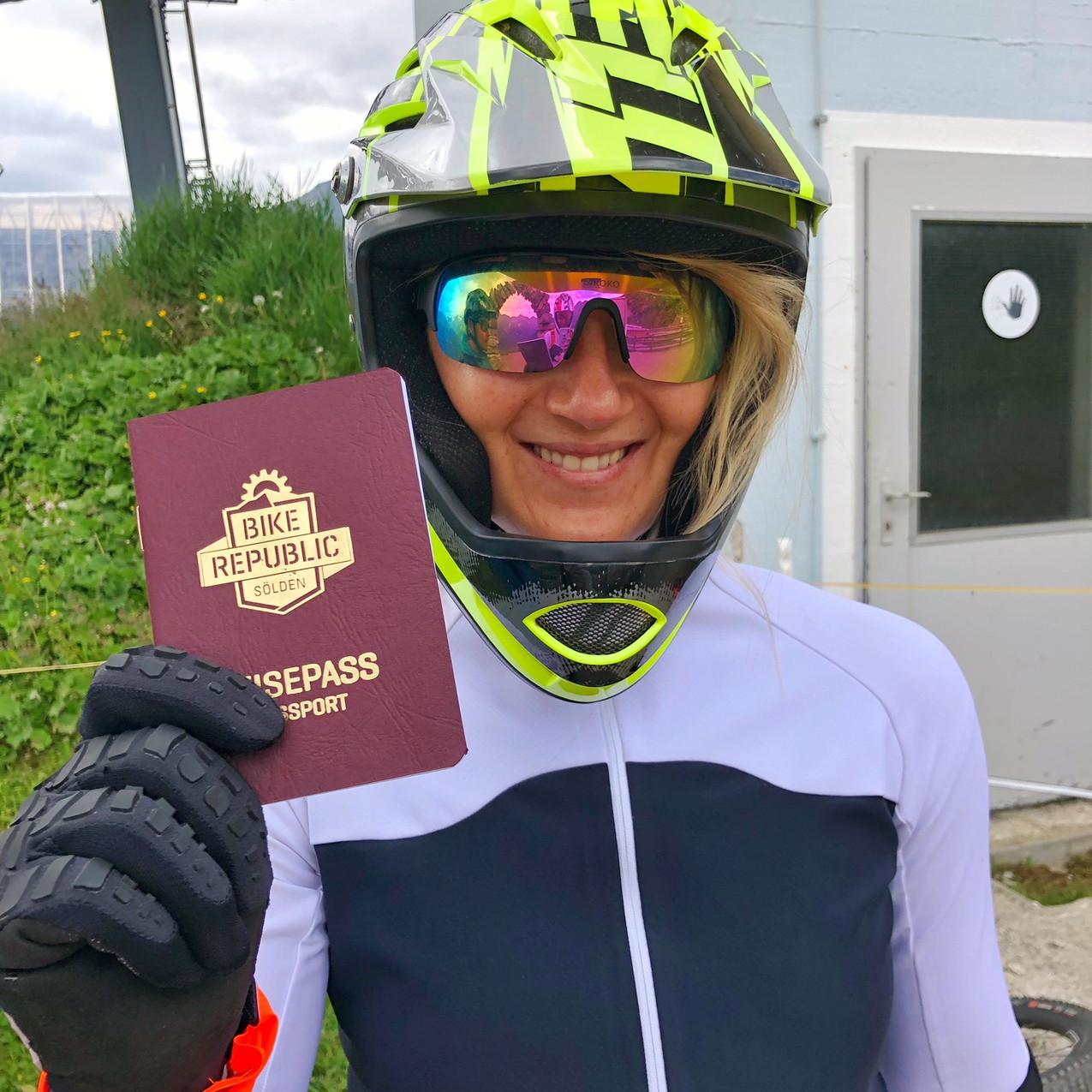 Bikerepublic Sölden - Einbürgerung