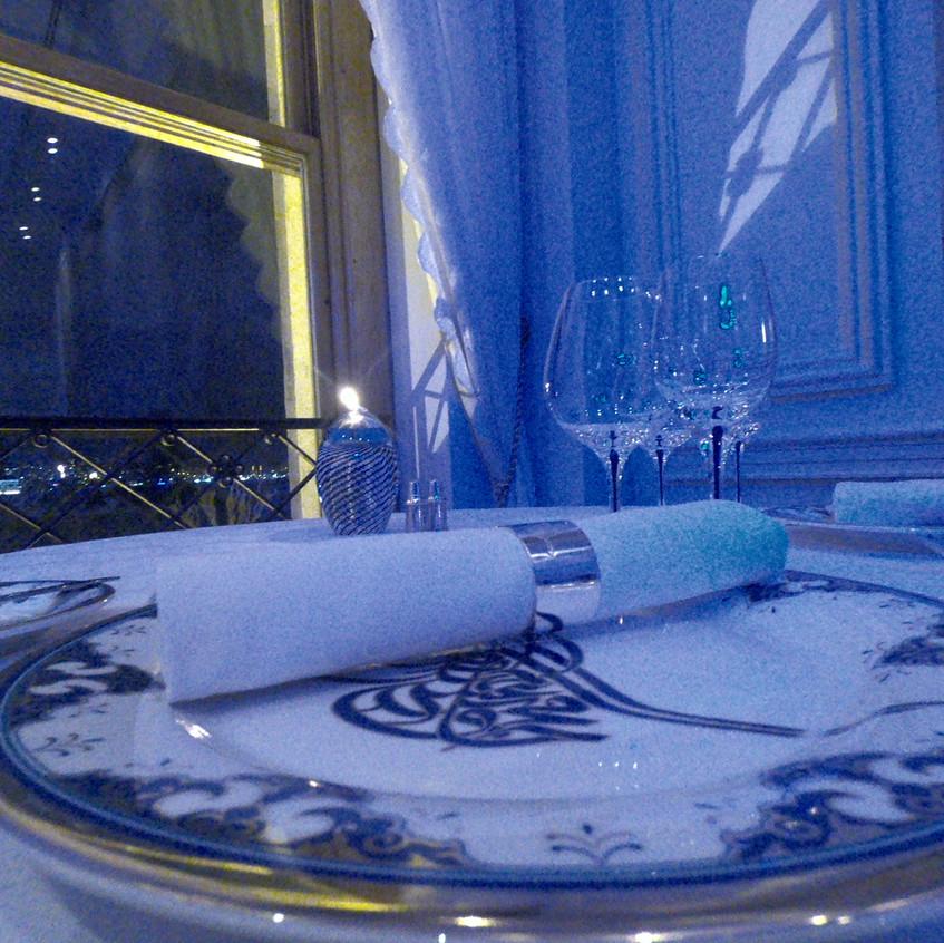 Dinner at Tugra Restaurant