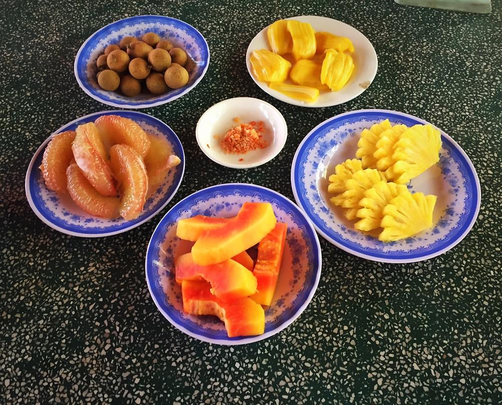 Frische einheimische Früchte von Unicorn Island