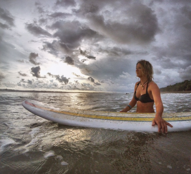 Surf lessons at Dominical