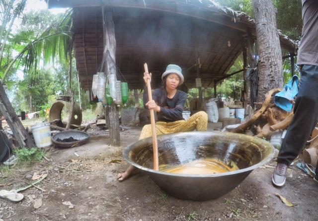 Herstellung von Palmzucker
