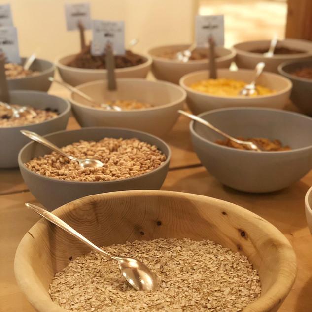 Frühstück im Central Sölden