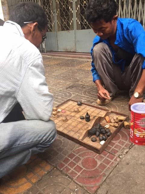 Leben auf den Straßen von Kambodscha
