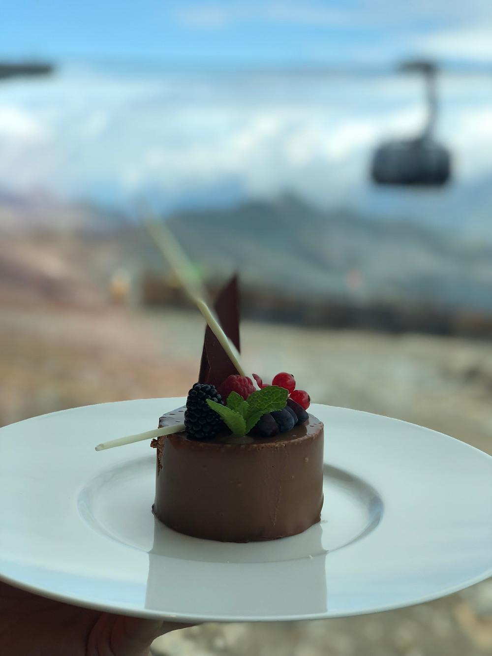 Dessert im ice Q - Restaurant
