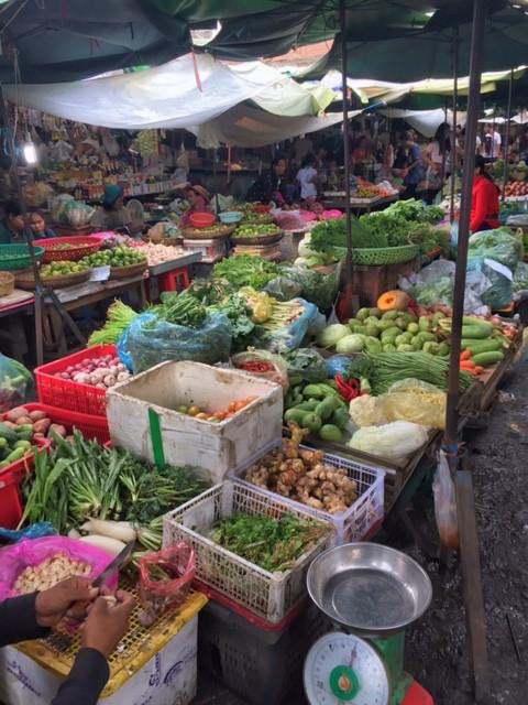 Local Market in Phnom Penh