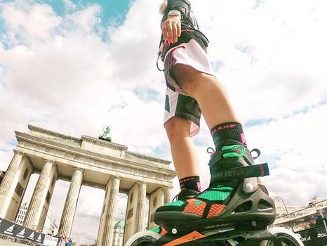 BMW Berlin Marathon Inlineskating