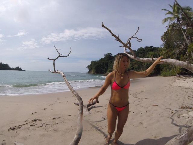 Beach at Manuel Antonio Natinal Park
