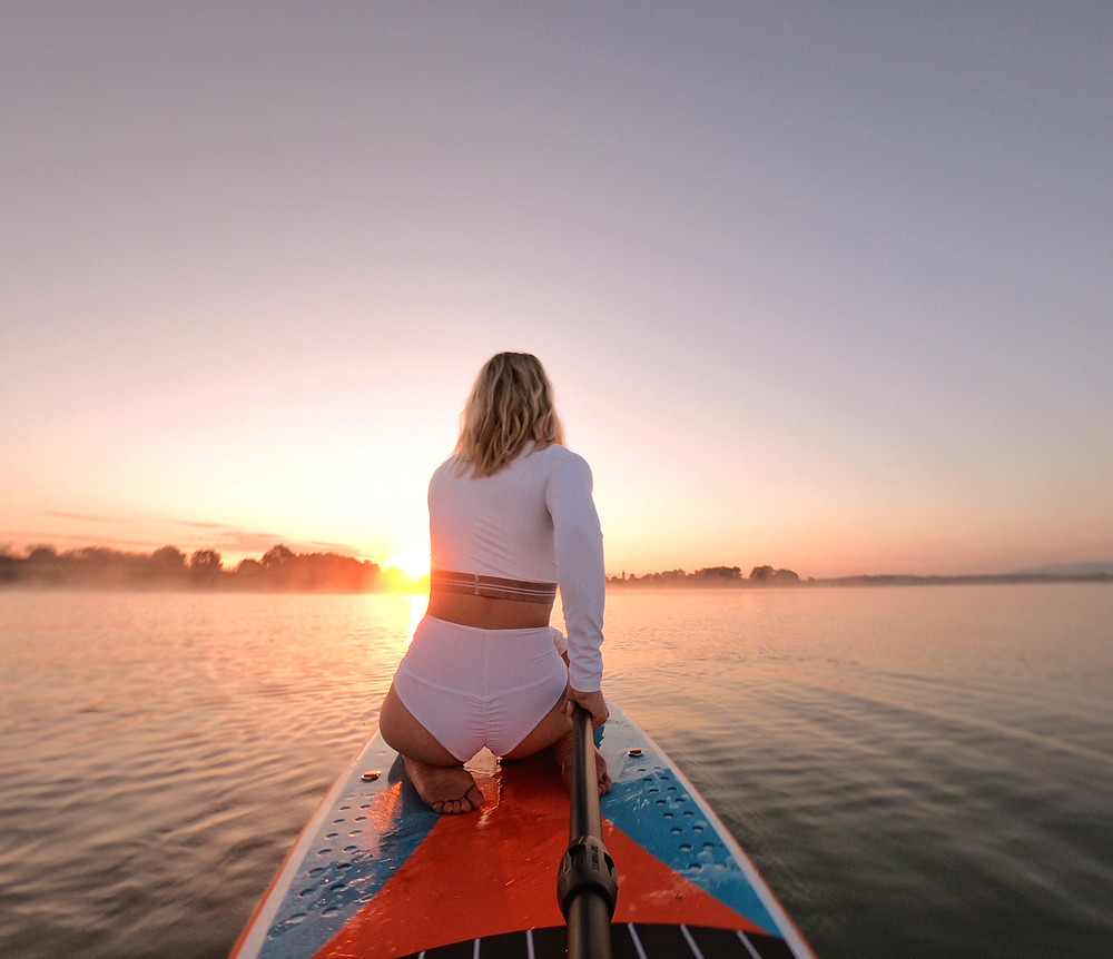 SUP Adventure - Sonnenaufgang am Chiemsee