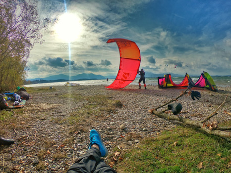 Kite Adventure am bayrischen Meer @Chiemsee